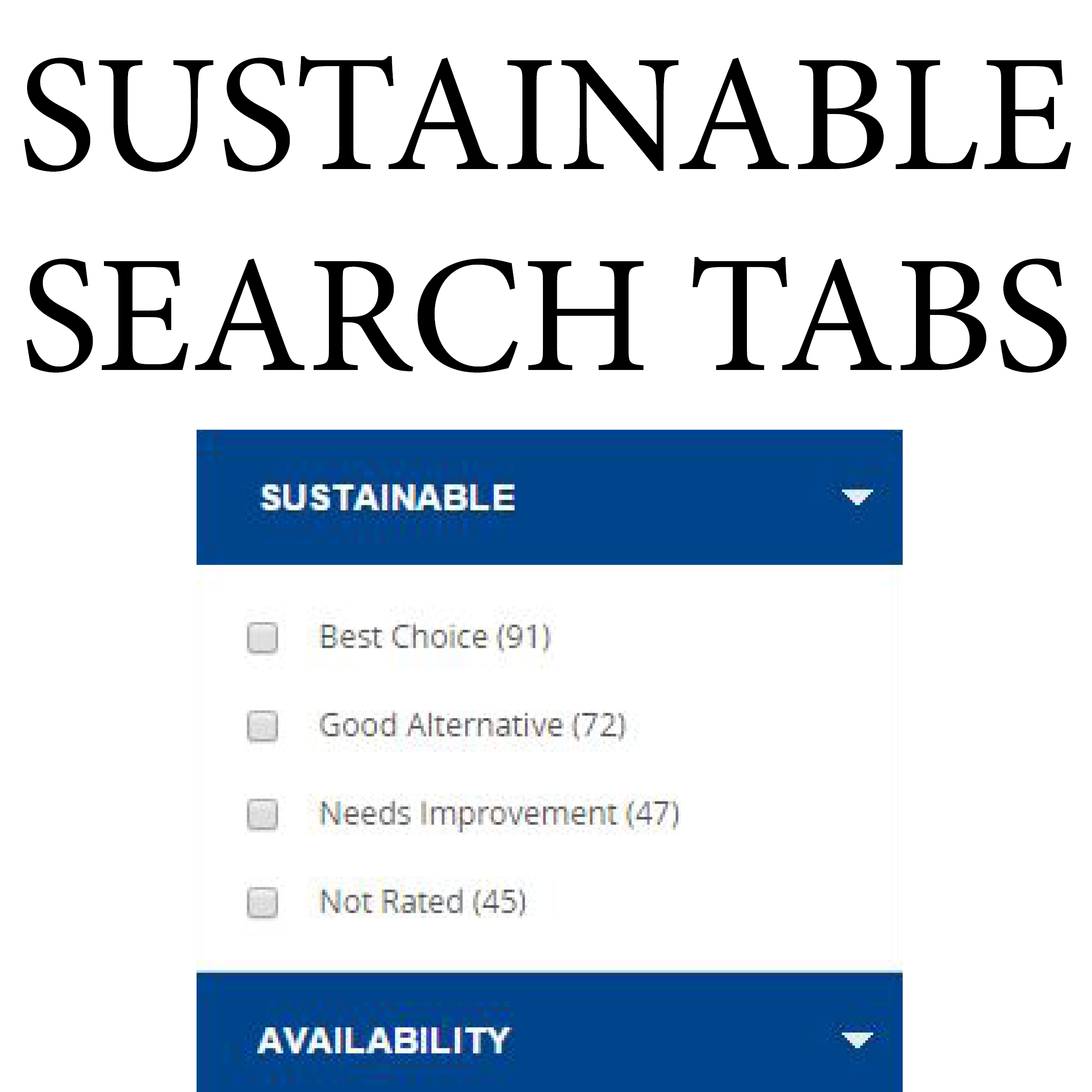 Other Sustainable Tools